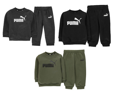 Puma Tracksuit Baby Toddler Set Trackies 8067