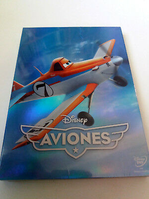 "Dvd ""Aviones"" Precintado Sealed Con Funda Carton Slipcover Walt Disney"