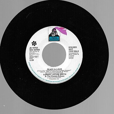 Lonnie Liston Smith & The Cosmic Echoes    Peace & Love  Flying Dutchman Promo