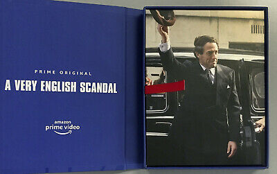 A VERY ENGLISH SCANDAL 2019 Complete Series (All 3 Parts) Emmy FYC DVD Set NEW!