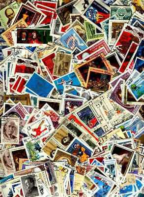 1000 RUSSIA  Rusland MIXED STAMPS USED - ALL DIFFERENT   KILOWARE