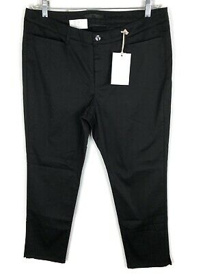 MAC Collection Conny Chic Womens Pants Jeans Trousers Stretch Size 46/28 Black