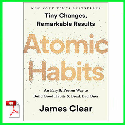 Atomic Habits by James Clear (E-book) {PDF}