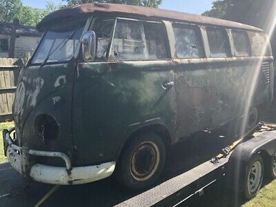 1961 Volkswagen Bus/Vanagon  1961 VW Bus SO23 Westfalia Sub hatch