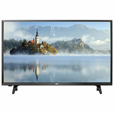 "LG 32LJ500B 32"" 720p HD LED TV with 2 HDMI / 1 USB Ports & 60Hz Refresh Rate"