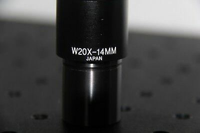 MICROSCOPE EYEPIECE W20X - 14mm - eyepiece only *Japan*