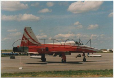 PHOTO F-5E Tiger II Freedom Fighter - Northrop - Swiss Air Force