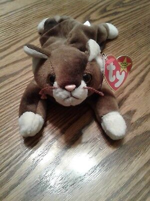 EXTREMELY RARE WITH ERRORS Pounce Beanie Baby - $1,100 00