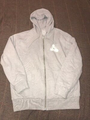 495feb9154ad PALACE P-TECH TRACK Jacket Grey Heather   Black - Size Xl - In Hand ...