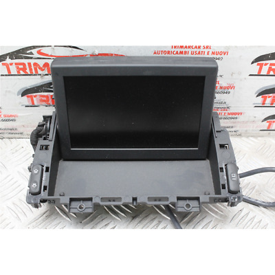 98045606Zd Display Monitor Console Centrale Peugeot 5008 1 I (2009-2016) 1.6 Hdi