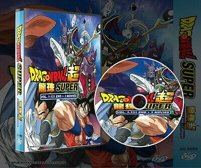 Dragon Ball Super Vol.1-131 End Complete Box Set Japanese Anime Dvd