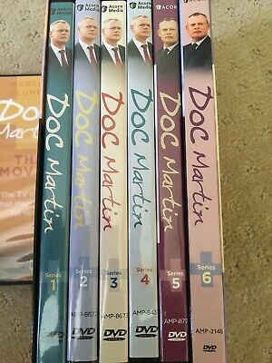 Doc Martin Complete Series Season 1-6 + The Films DVD Set Collection TV Show Lot