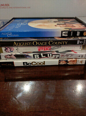 Wholesale Lot of 23 Pre Owned DVDs, No Duplicates