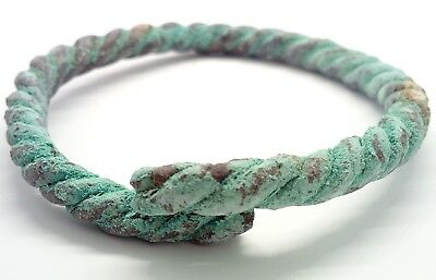 Bronze Bracelet Twisted 700-1000AD. Viking