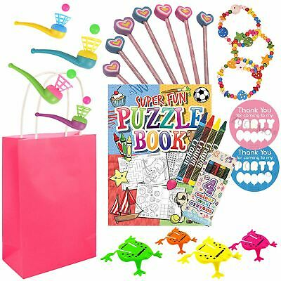 Girls Pre Filled Return Gifts Birthday Goody Party Bags Loot Favours Toys Kids