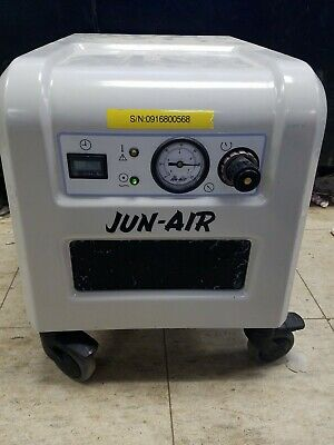 Jun-Air 87R-4P Oil-less Piston Air Compressor 4 Liters