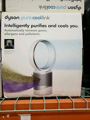 Brand New Dyson DP01 Pure Cool Link Desk Air Purifier & Fan Certified Hepa White