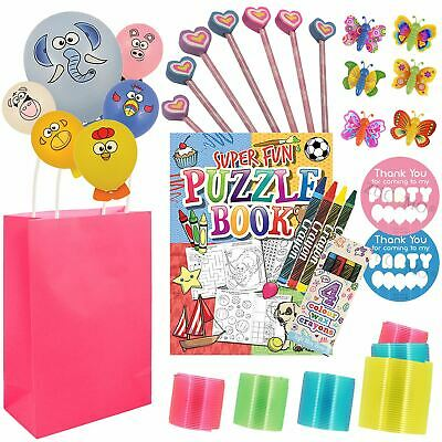 Girls Birthday Pre Filled Children Party Loot Goody Bags Favors For Children
