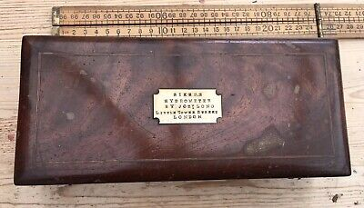 Antique Sikes Hydrometer By Joseph Long London, Good Antique Slide Rulers