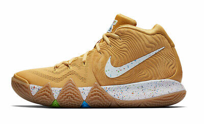 cheap for discount 6b978 23060 NIKE KYRIE 4 General Mills Cinnamon Toast Crunch Gold Shoes BV0426-900  Men's 11