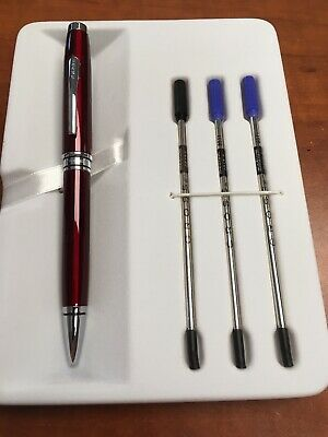 Cross Coventry Ballpoint Red With 3 Refills