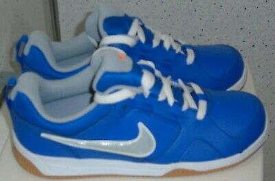 Junior Nike Lykin 11 Trainers Uk 5 Eur 38 Royal Blue Leather Girls Boys Uni Vgc