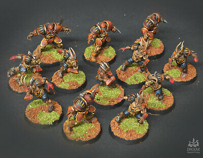 The Doom Lords chaos blood bowl  ** COMMISSION ** painting