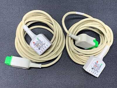 GE 2017003-001 Multi-Link ECG Trunk Cable 3/5 Lead *Lot of 2*