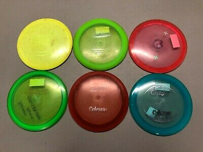 Used Innova Premium Plastic Driver Disc Golf LOT of 6 (#2)