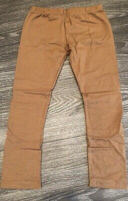 NWT!!! Persnickety Girls Basic Brown Cropped Leggings Size 7 Years