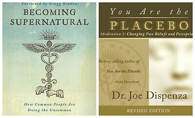 Becoming Supernatural and You Are The Placebo 2 eBooks [PDF] combo