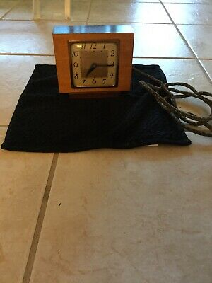 Old McClintock art deco clock with old cord
