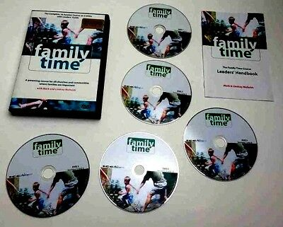 5 DVD SET Family Time - Parenting Course for Churches and Communities 10 SESSION