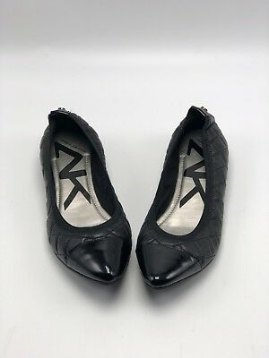 8bf6828dad9 Anne Klein Women s Offered Demi Wedges Size 5M Black Leather New In Box