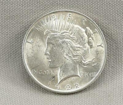 1922 Peace Silver Dollar! No Reserve! Decent Coin!