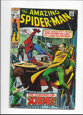 """The Amazing Spider-Man #83 {1970 Marv} Early Bronze Age """"key"""" 1 Coupon Cut-Out!"""