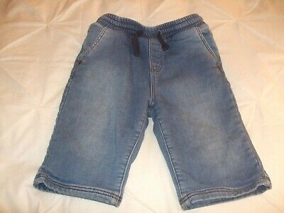 Demo Boys 3/4 Length Denim Shorts, 9-10 Years, Worn 4/5 Times, Good Clean Cond.