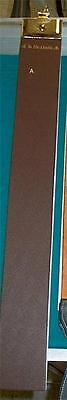 """High Quality, Full Sized, REAL Straight Razor Strop, 2.5x20"""" 2pc Reduced"""