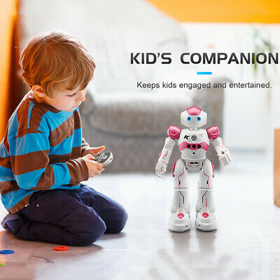 Smart Robot Toys Remote Control Robot Gift for Girls kid's Companion Intelligent