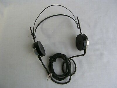 Vintage American Bell System Wayland Switchboard Operator Telephone Headset