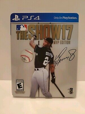 MLB: The Show 17 -- MVP Edition (Sony PlayStation 4, 2017) PS4 - Ken Griffey Jr.