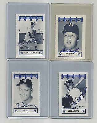 1991-1992-WIZ ny YANKEES of the 60's auto SIGNED dooley WOMACK AT&T 2016 topps