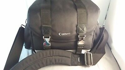 CANON 200DG DIGITAL SLR CAMERA GADGET BAG CASE Gadget Deluxe Black