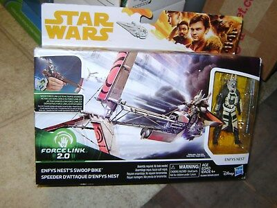 Star Wars Force Link 2.0 Enfys Nest & Swoop Bike Action Figure BRAND NEW SEALED