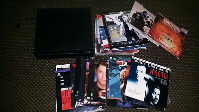 Pioneer CLD-1010 laserdisc 39 movie lot Philadelphia hackers top gun terminator