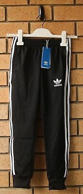 Bnwt Adidas Originals Superstar Cuff Boy's Kid's Track Pants Size 7-8Yrs Cf8558
