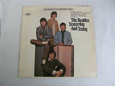 Beatles Yesterday and Today 1966 LP Vinyl Record Album Trunk Re Capitol ST 2553