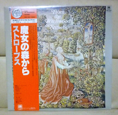 JPN Cover+Obi>Strawbs/From The Witchwood<AMP-2007 YES Pink Floyd Free Shipping