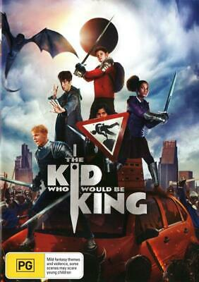 The Kid Who Would be King - DVD (NEW & SEALED)
