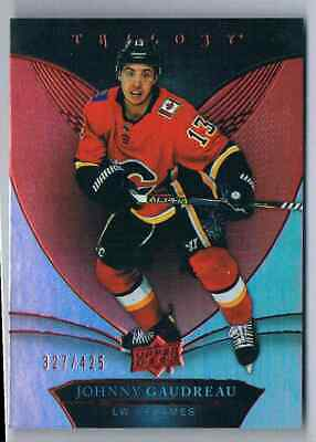 2018-19 Trilogy Red Johnny Gaudreau 327/425 Calgary Flames #16